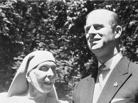 Статья о принце Филиппе и его семье в журнале Marie Claire