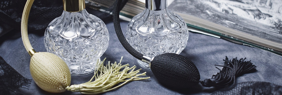Customized Fragrance | Crystal Spray Bottle