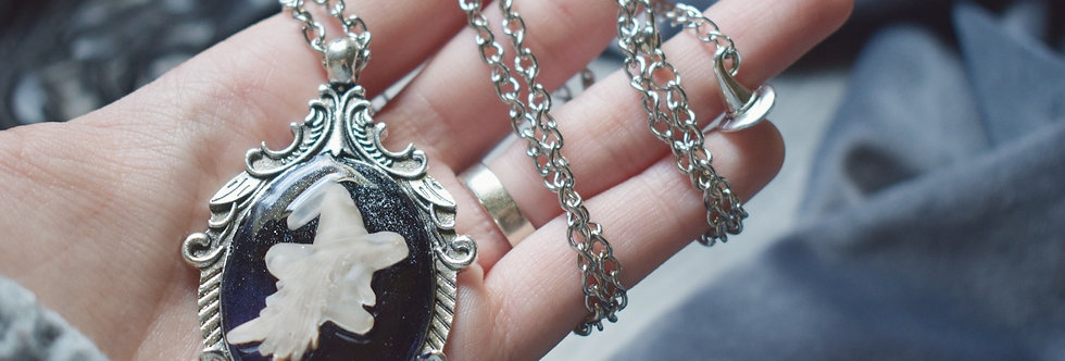 Witch Cameo Pendant