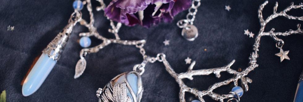 Moonlight Swan Necklace