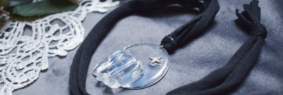 Ice Crystals Pendant