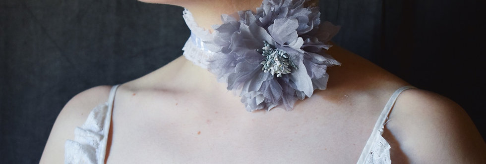Theater Floral Choker