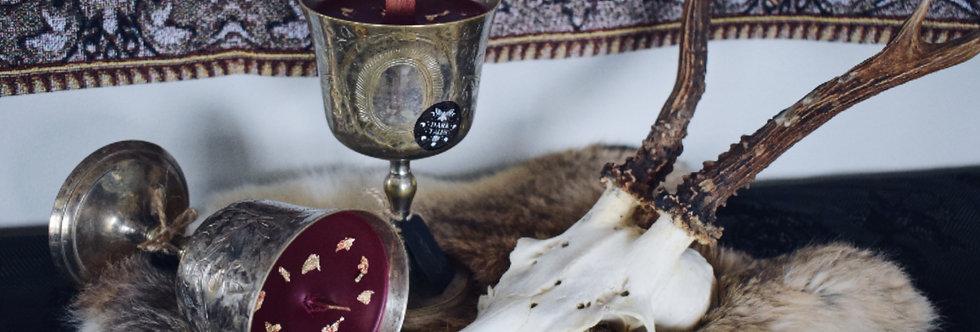 Antique Goblet Candle