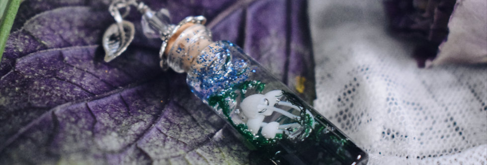 Fairy Forest Bottle Pendant