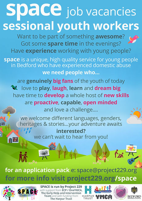 2021 04 Session Youth Worker Job Advert.