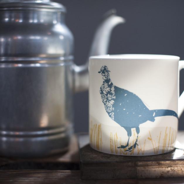 Pheasant Mug Helen Minns