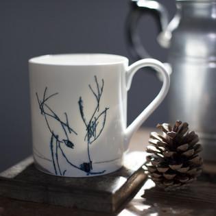 Deer Mug Helen Minns
