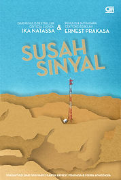 susah sinyal book jacket new front cover