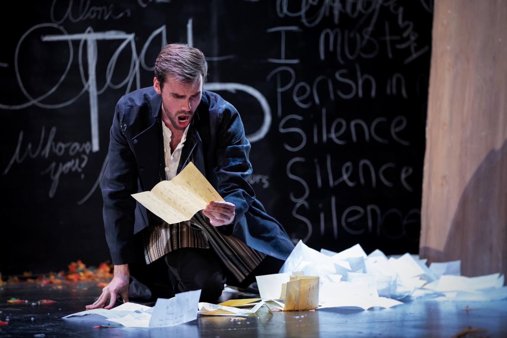Eugene Onegin, Boston Conservatory Opera Photo by Max Wagenblass