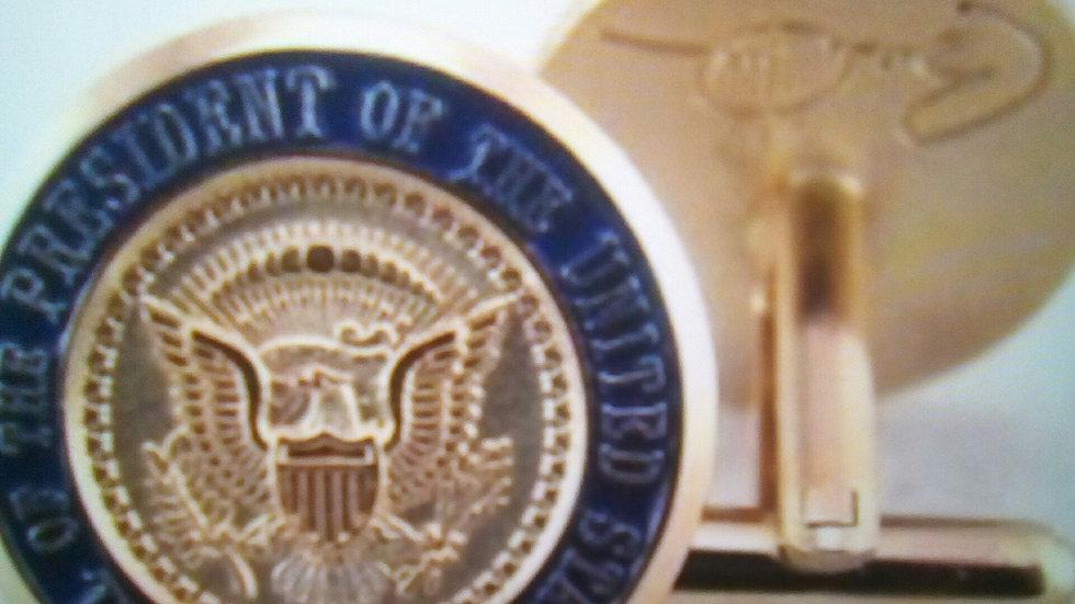 Authentic Prez. Obama Cuff Links