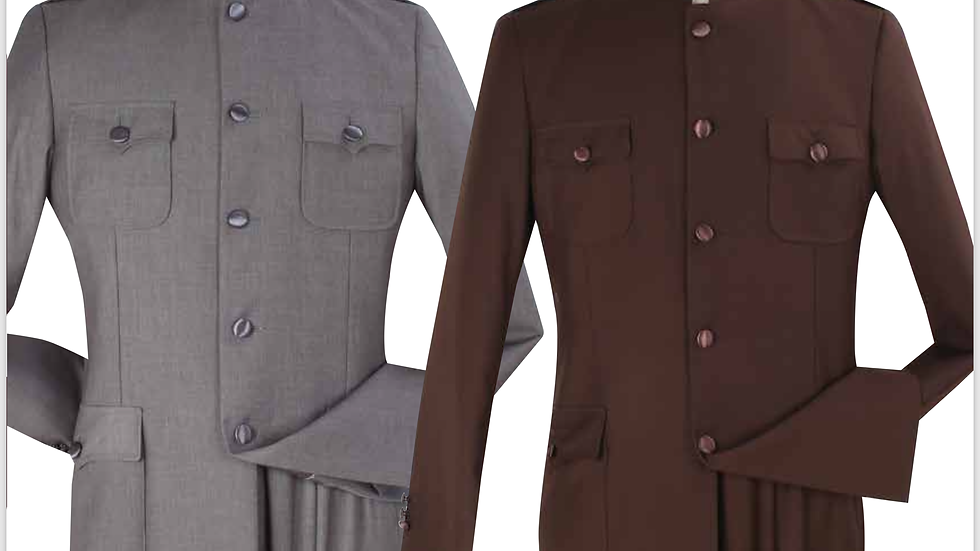 """Patch Pockets """"Preaching Suits"""""""