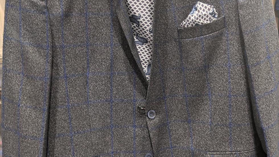 Window Payne / Grey & Navy Striped Sport Coat