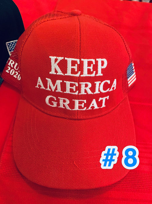 Trump Hat #8              DONATION OF