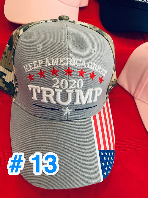 Trump Hat #13              DONATION OF