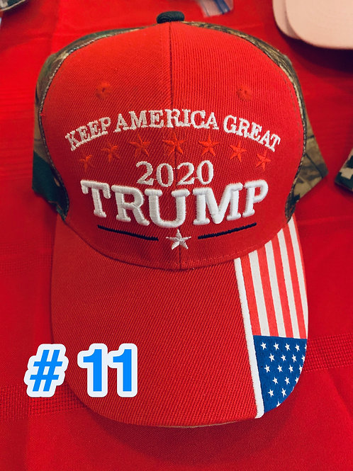 Trump Hat #11                DONATION OF