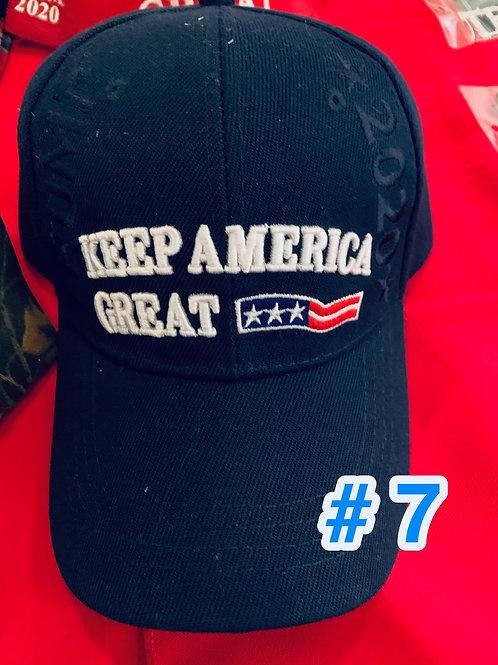 Trump Hat #7            DONATION OF