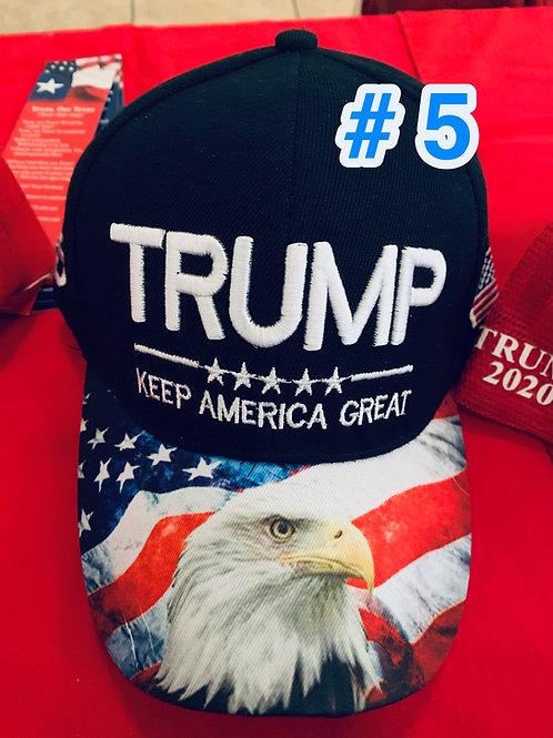 Trump Hat #5               DONATION OF