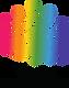 Logo_vertical_color_letra_negra_pequeño.