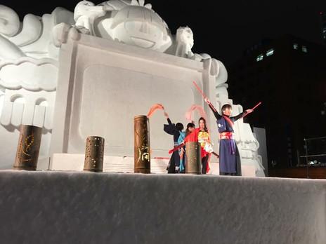 Sapporo yukimatsuri2017
