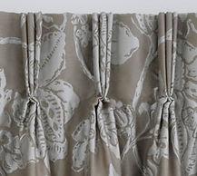 Curtain triple pleat