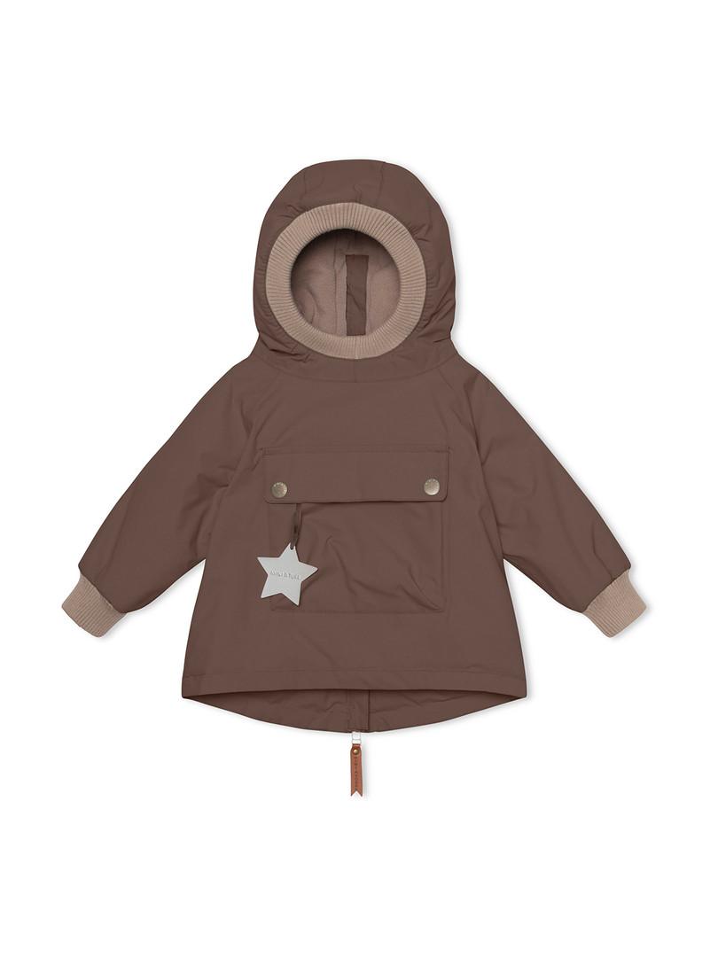 1203090700-Baby Wen Anorac, M-Dark Choco