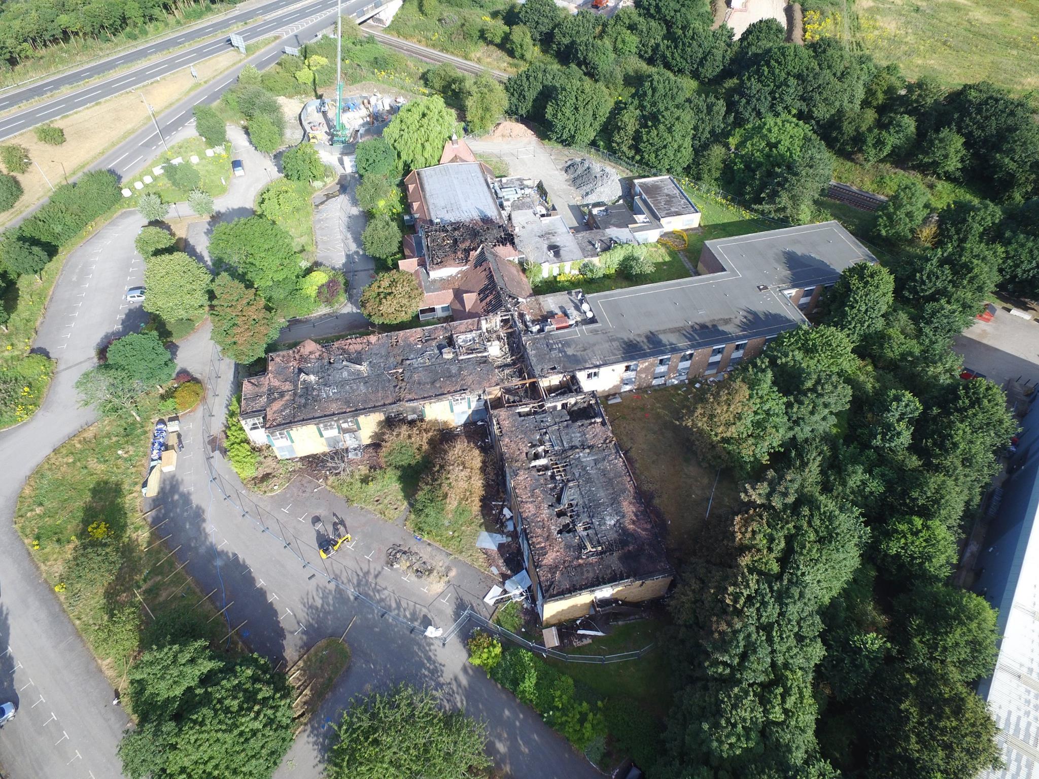 Aerial Madison Hotel 2