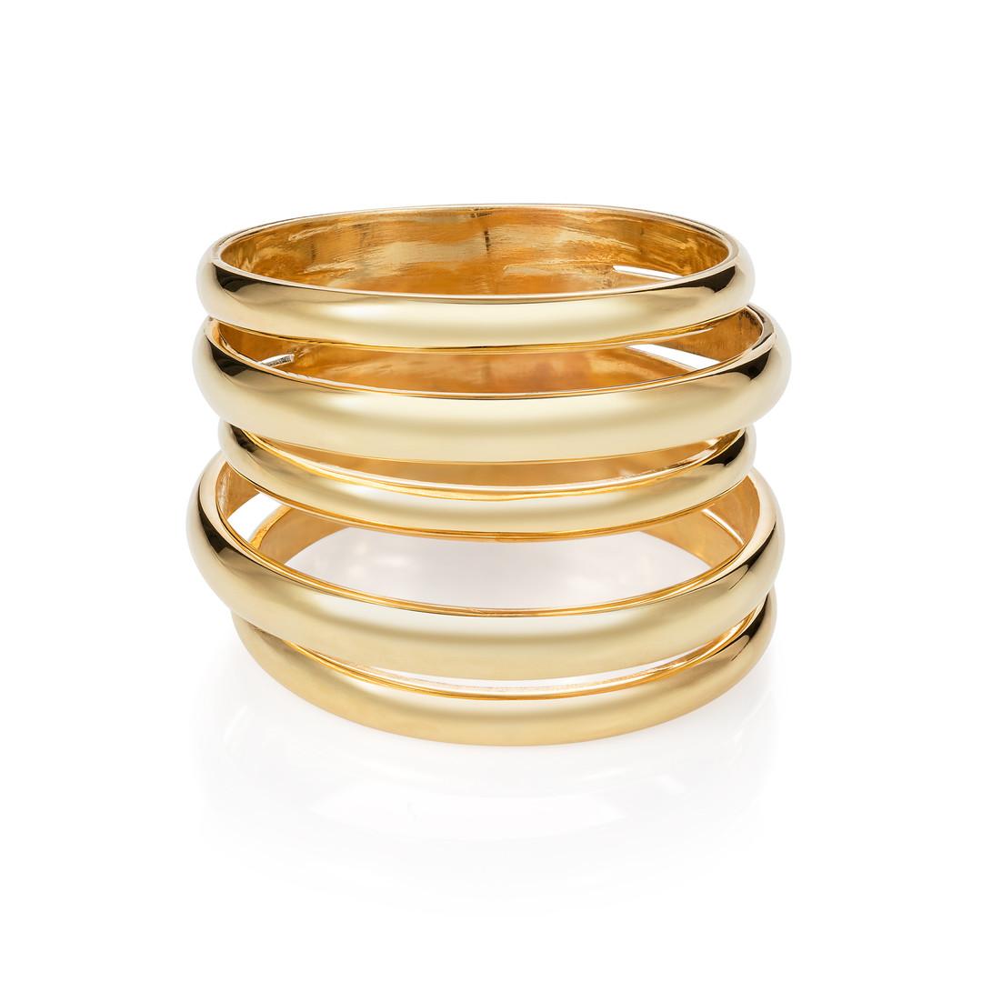 Minka 18ct Yellow Gold 5 Way Ring £1500