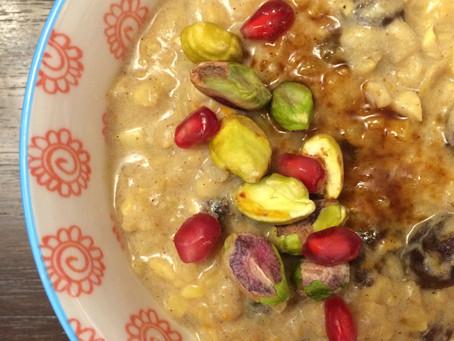 Chai Spice Porridge