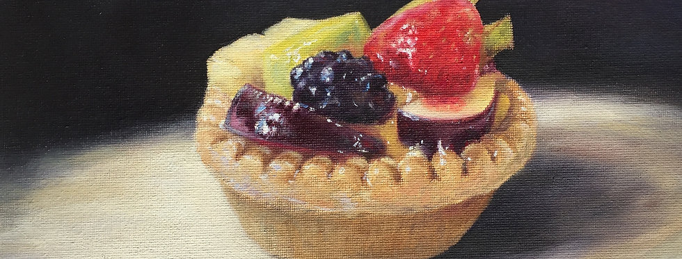 Summer fruits tart