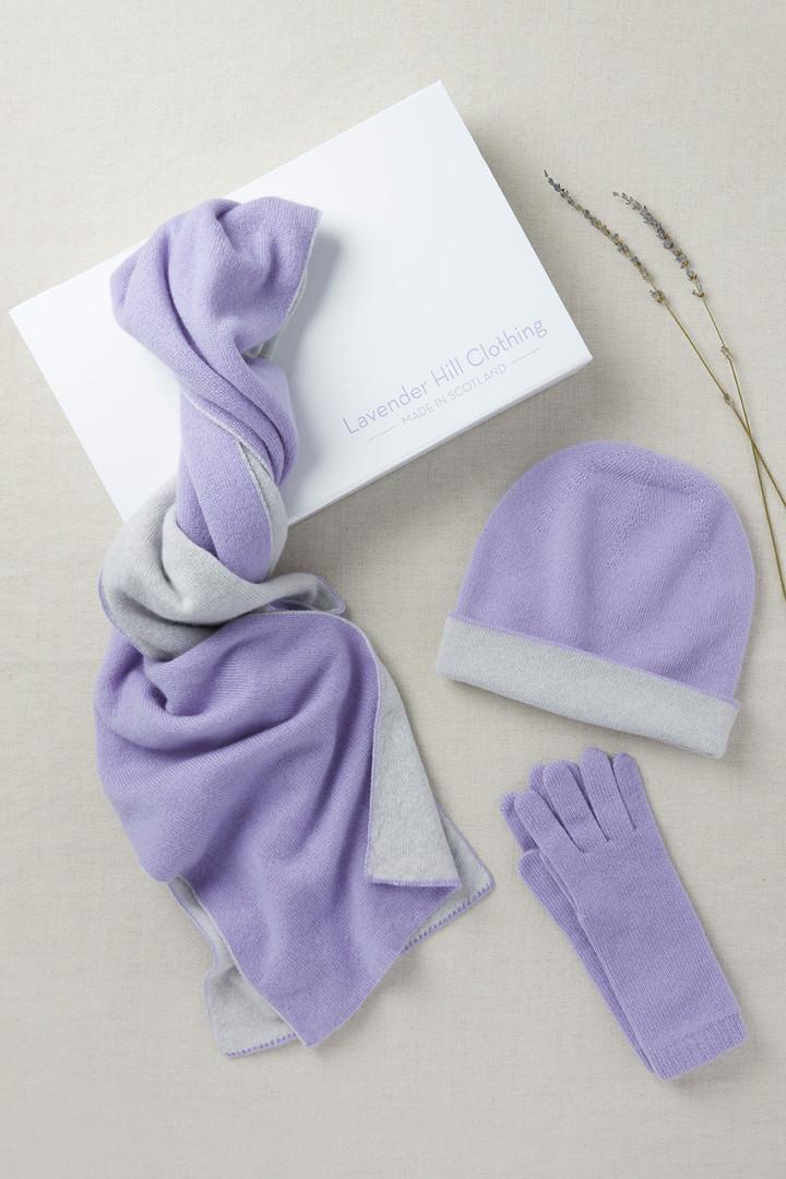 Cashmere Gift Set_Lavender Grey_£200.00_