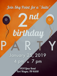 SPSS 2nd Birthday Party Invite