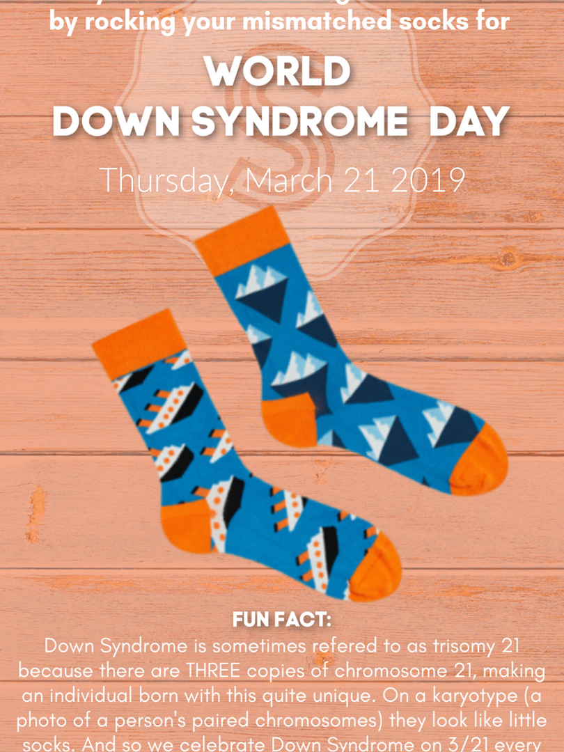 SPSS 2019 World Down Syndrome Day