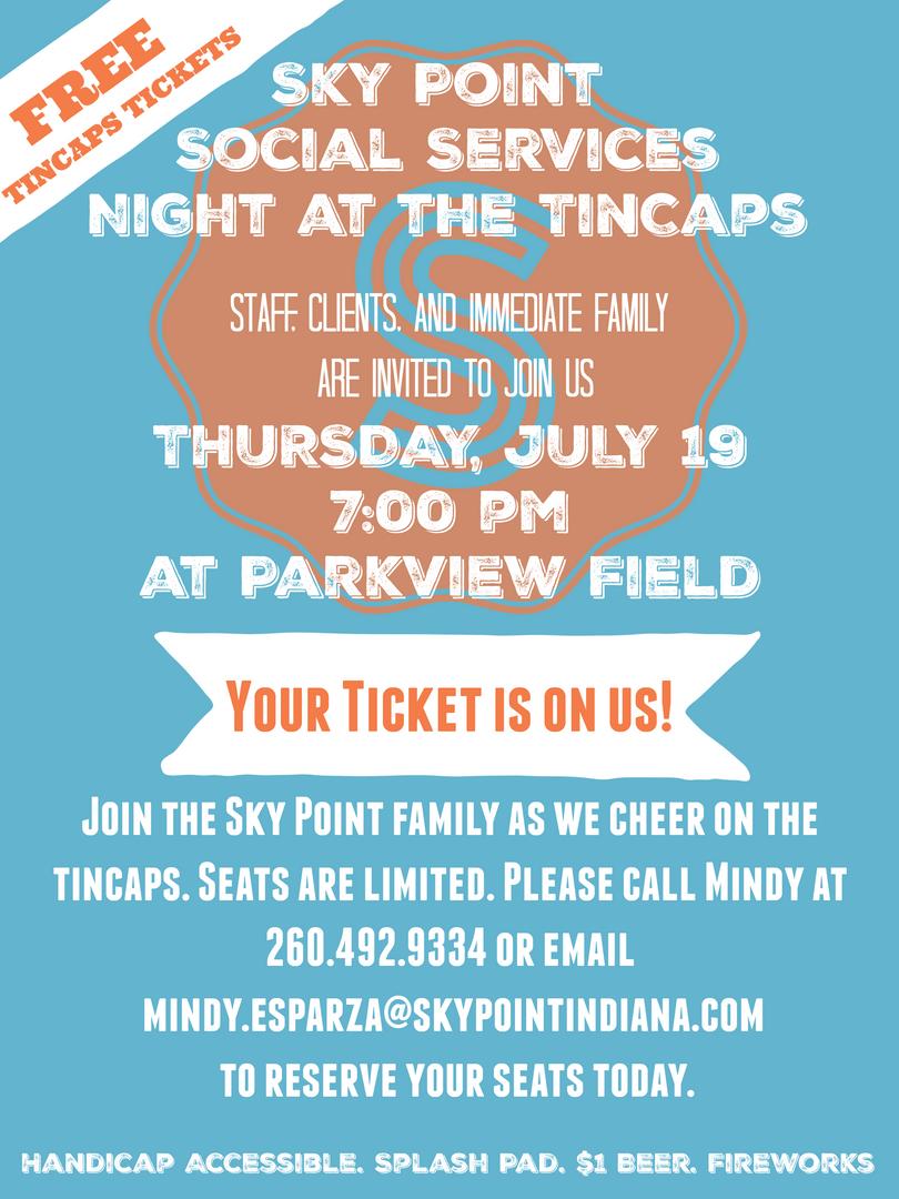 SPSS 2018 TinCaps Flyer