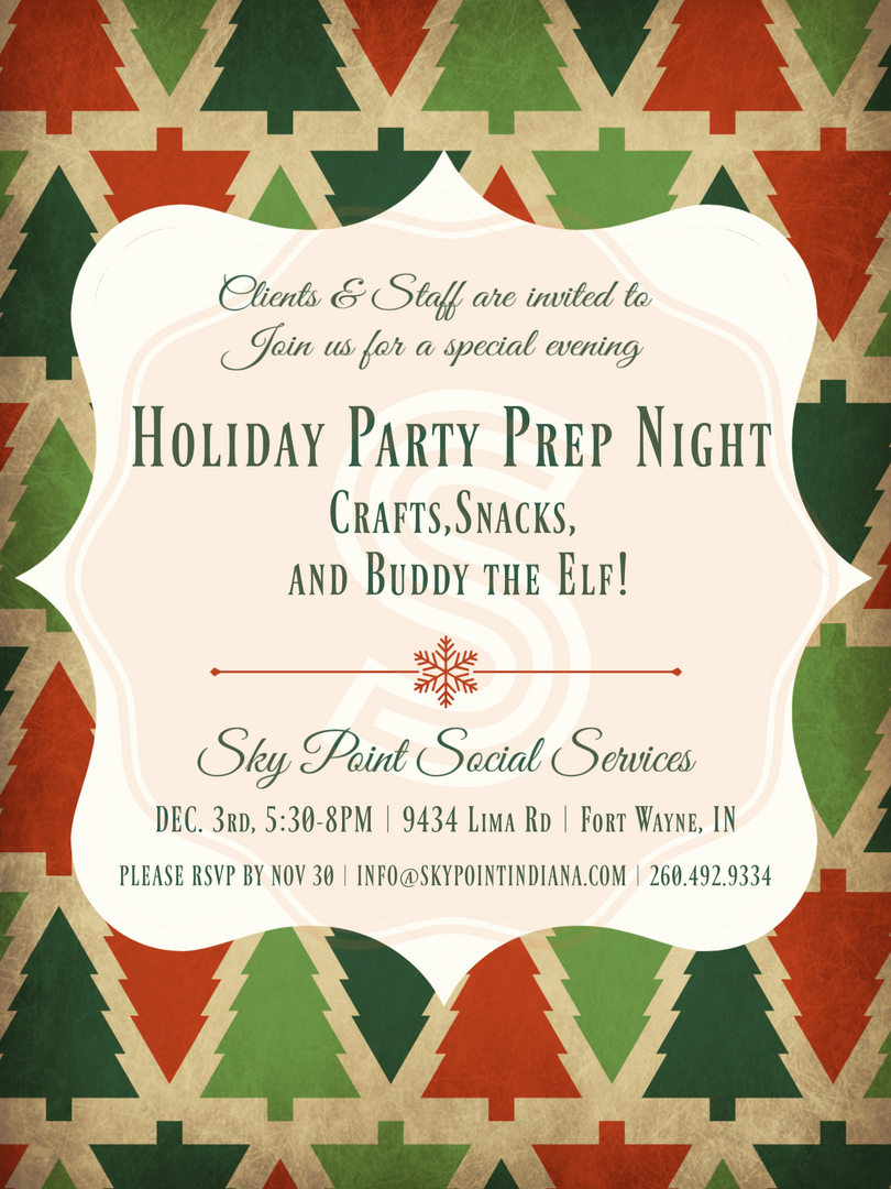 SPSS Holiday Prep Night Fun