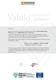 ASSOCIATION PRESENTATION IN DOLENJSKI MUZEJ NOVO MESTO