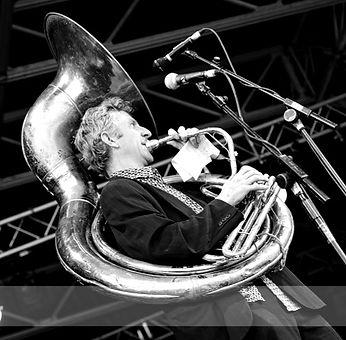 Graham Hughes, sousaphone