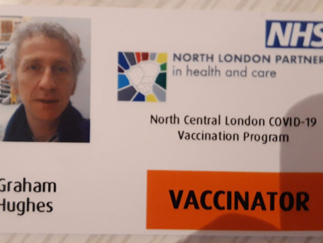 Fully trained vaccinator raring to go