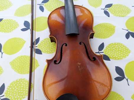 An ailing president and a revived violin