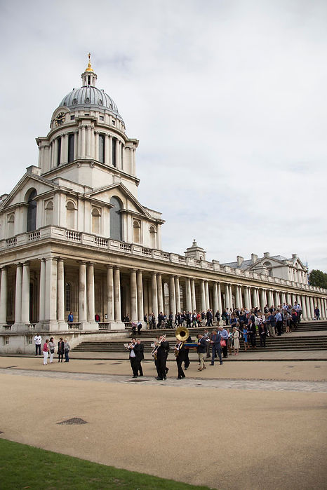 A memorial at Greenwich old Naval College