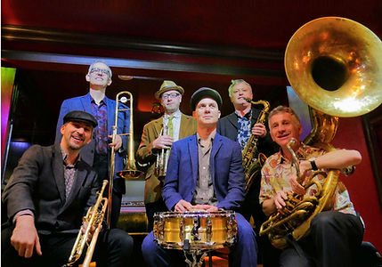 Brass Volcanoes Mardi Gras night at Ronnie Scott's jazz club