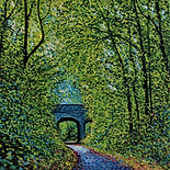 Small Square Bridge paintings.JPG