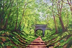 Nickey Line Bridge - Harpenden