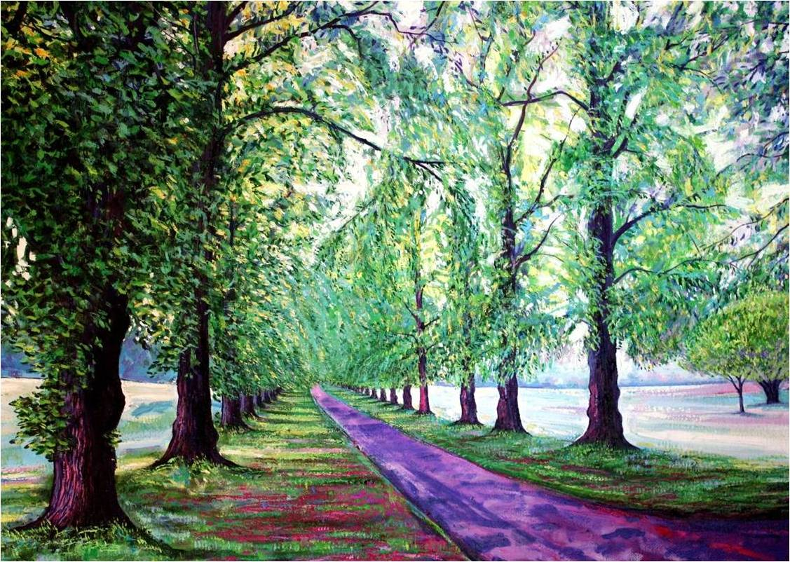Avenue of Trees - 25th September