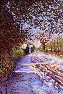 Pipers Lane - in Winter