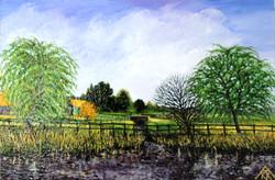 Redbournbury Mill - In Spring
