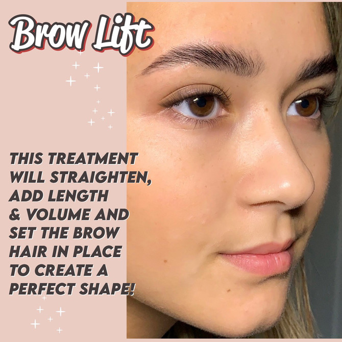 What is a Brow Lift or Lamination?