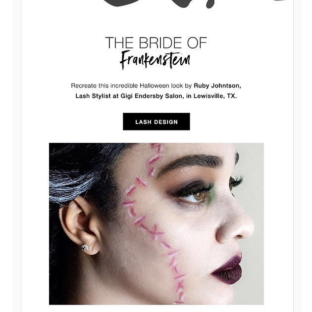 See how we WON the Xtreme Lashes Halloween Contest   The Best