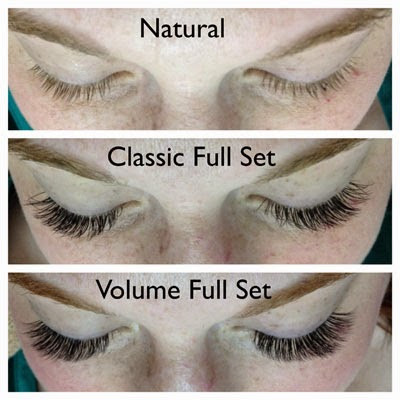 volume lash extensions in lewisville