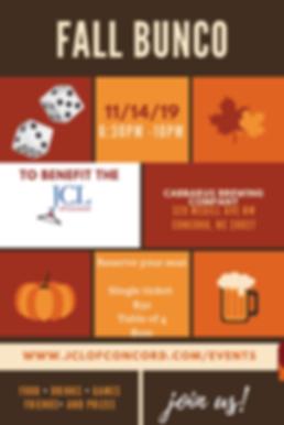 Orange Grid Fall Festival Blog Graphic (