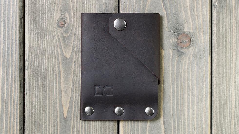 Вертикальный мини-кошелек для карт и купюр «SIMPLE»